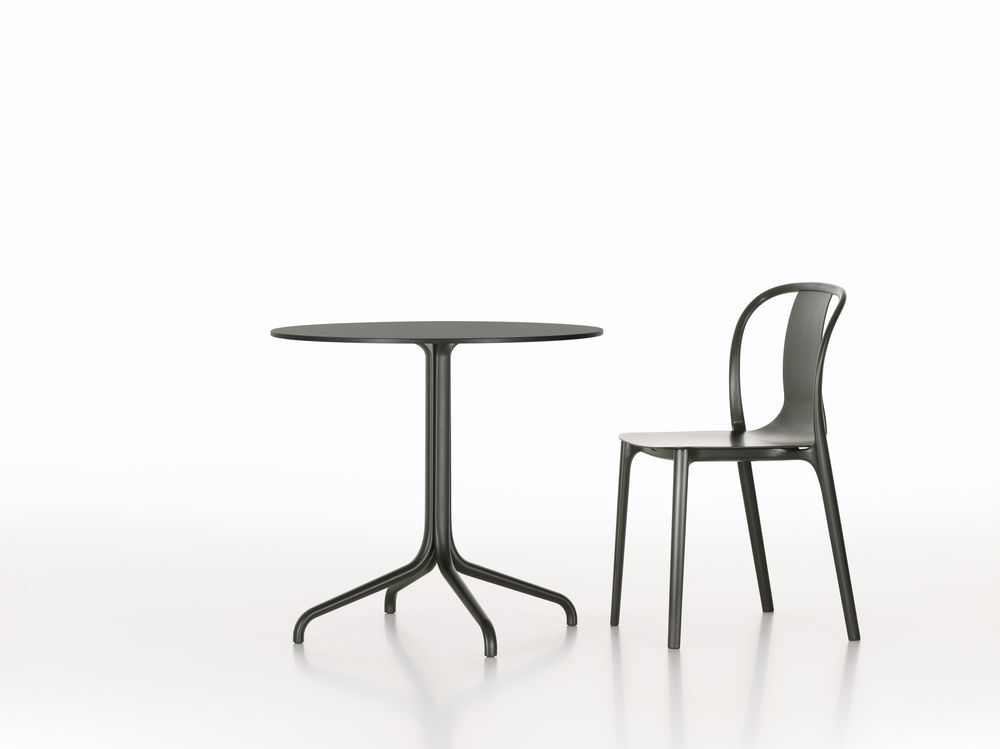 Belleville Round Dining Table by Vitra