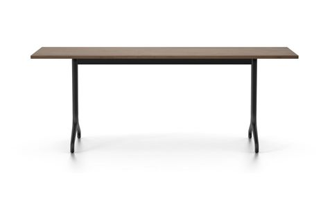 Belleville Solid Top Rectangular Dining Table by Vitra