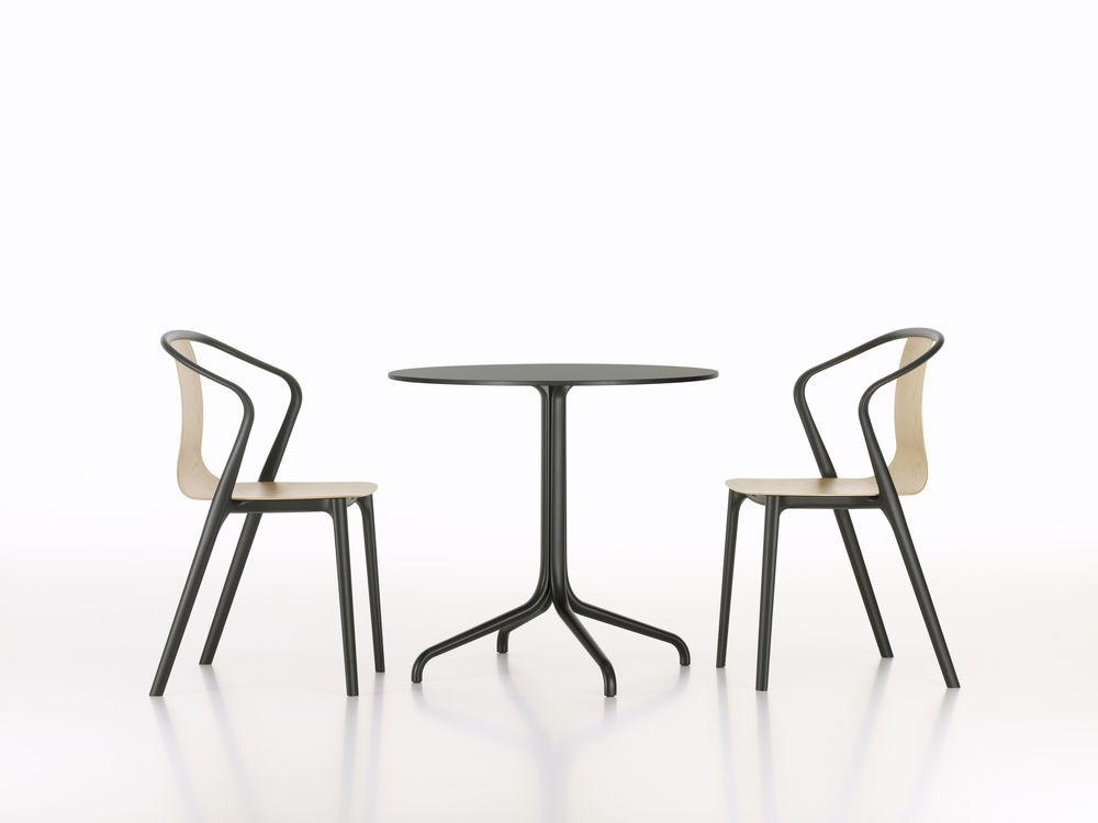 Belleville Round Outdoor Table by Vitra