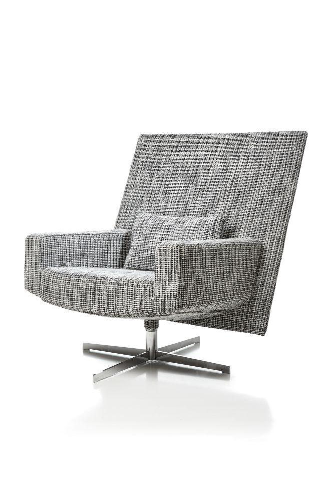jackson lounge chair macchedil grezzo black indigo by moooi