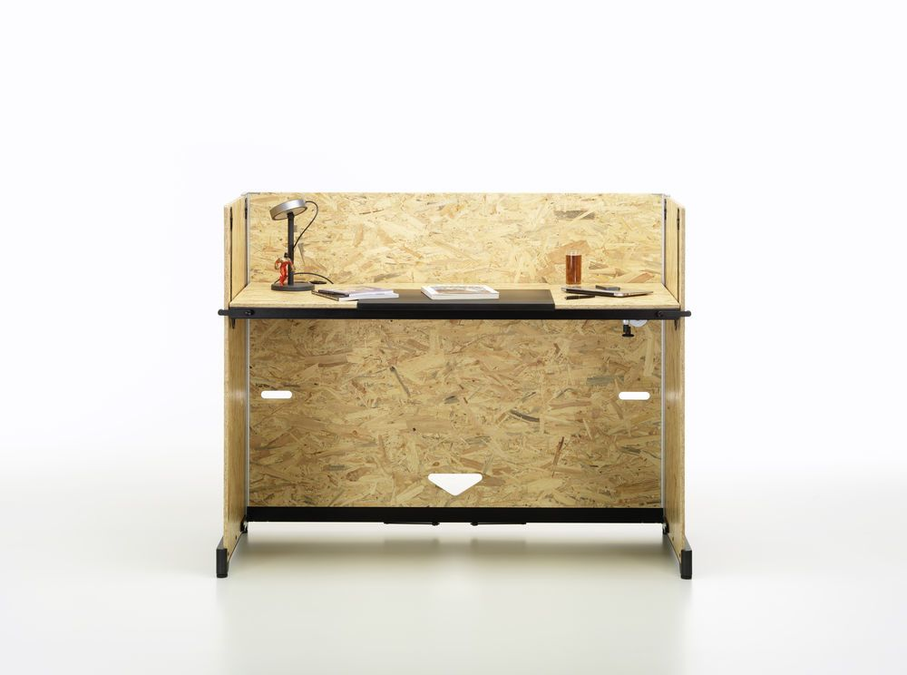 Hack Table, crank adjustment by Vitra