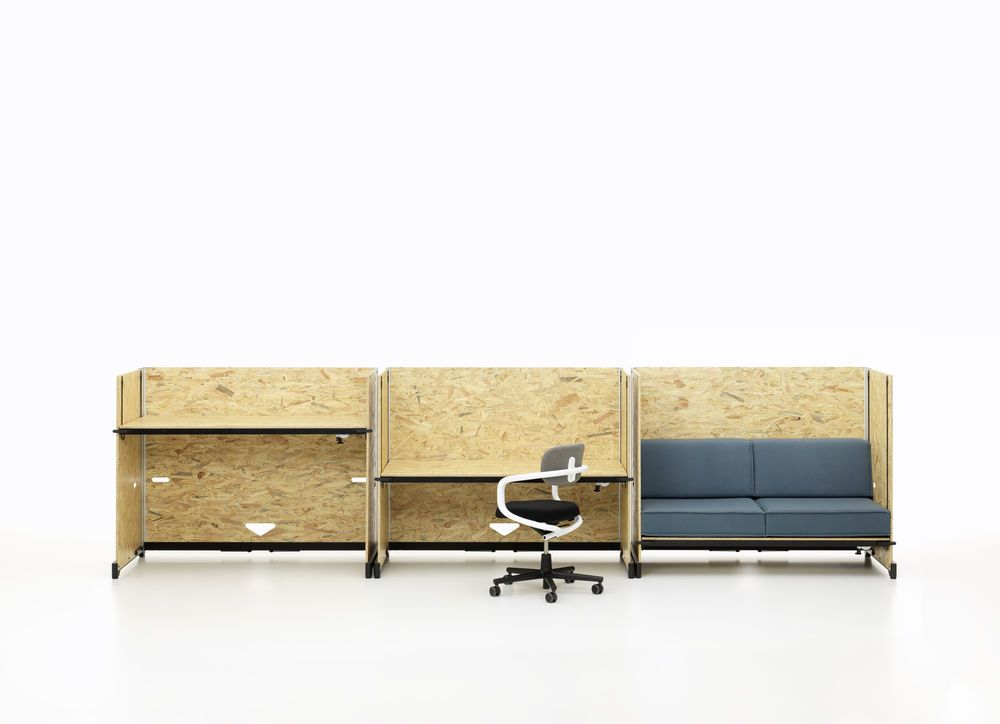 Hack Table, quick adjustment by Vitra