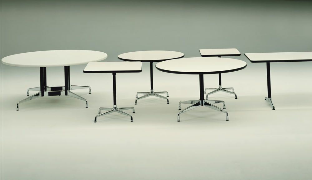 Eames Boat-Shaped Table - 6 Seats by Vitra