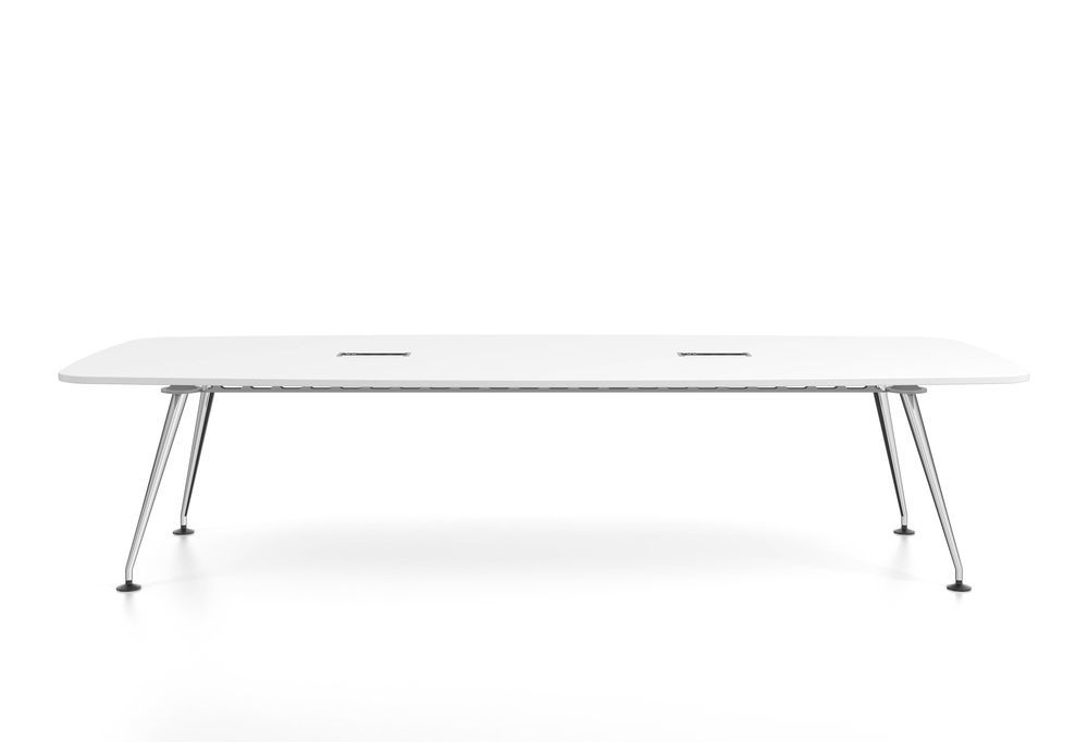 MedaMorph Boat-Shaped Conference Table 320x130 by Vitra