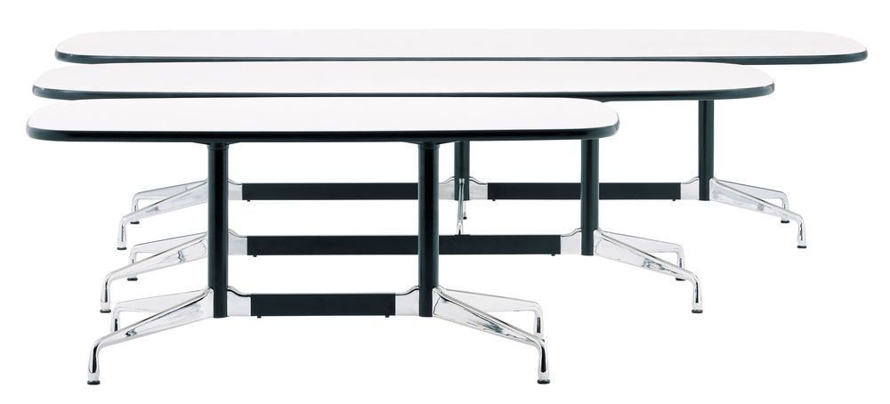 Eames Rectangular Table - 8 Seats by Vitra