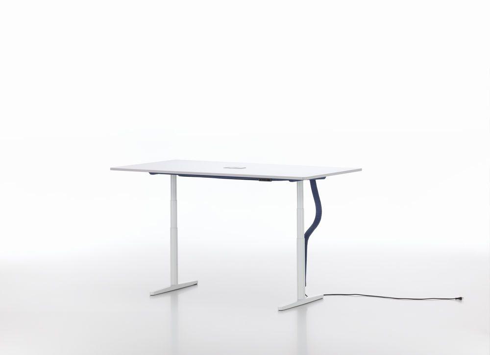 Tyde Meeting Table 200 x 100, Rectangular by Vitra