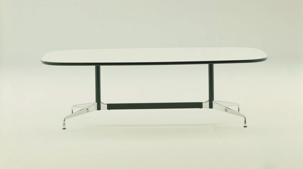 Eames Boat-Shaped Table - 14 Seats by Vitra