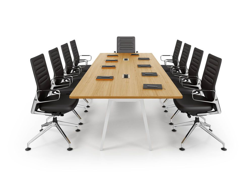 Joyn  Conference Table, With Current Rotax by Vitra
