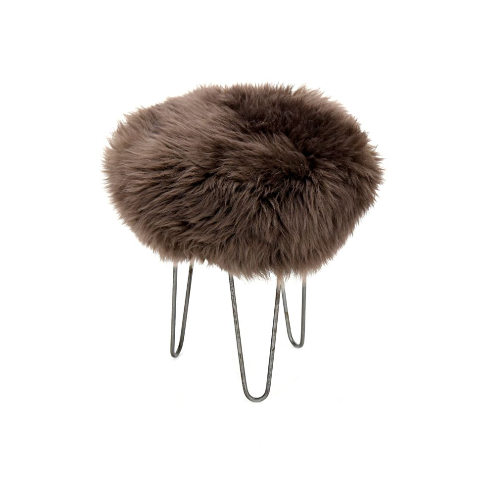 Holly Baa Stool in Mink