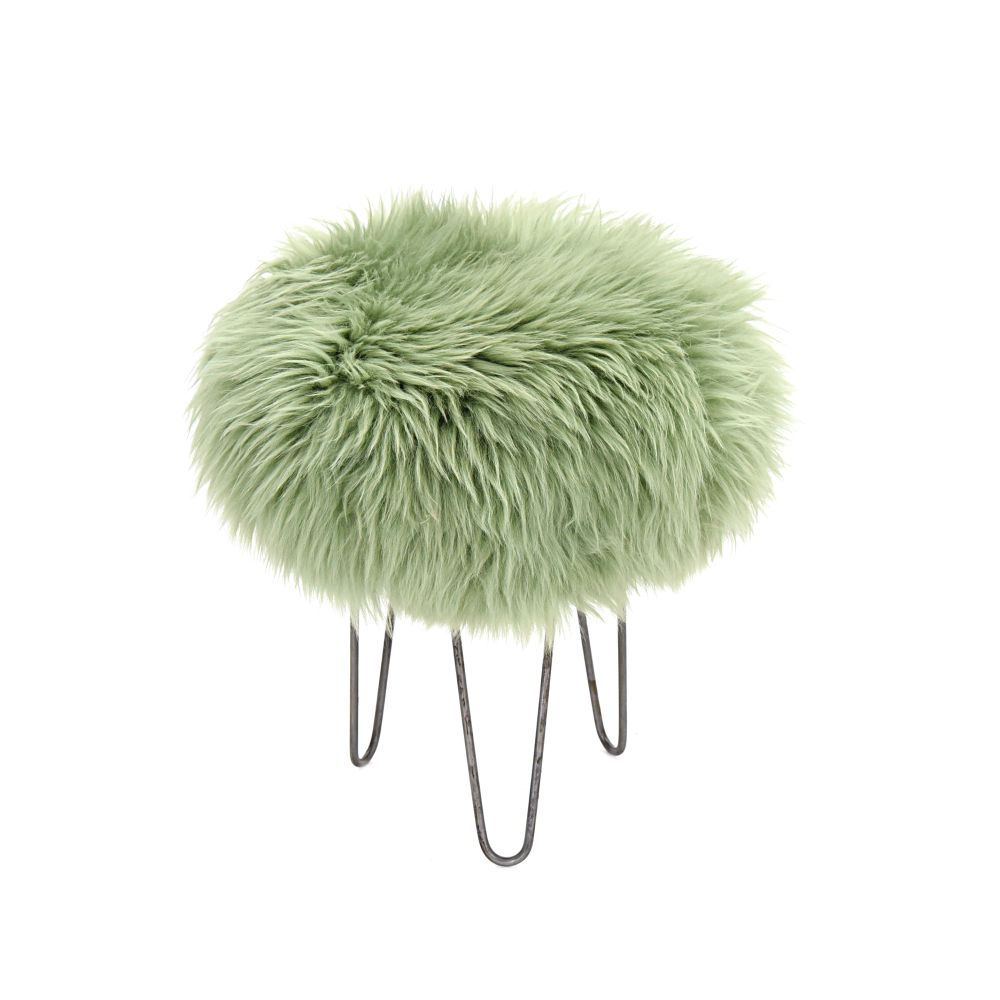 Holly Baa Stool in Sage