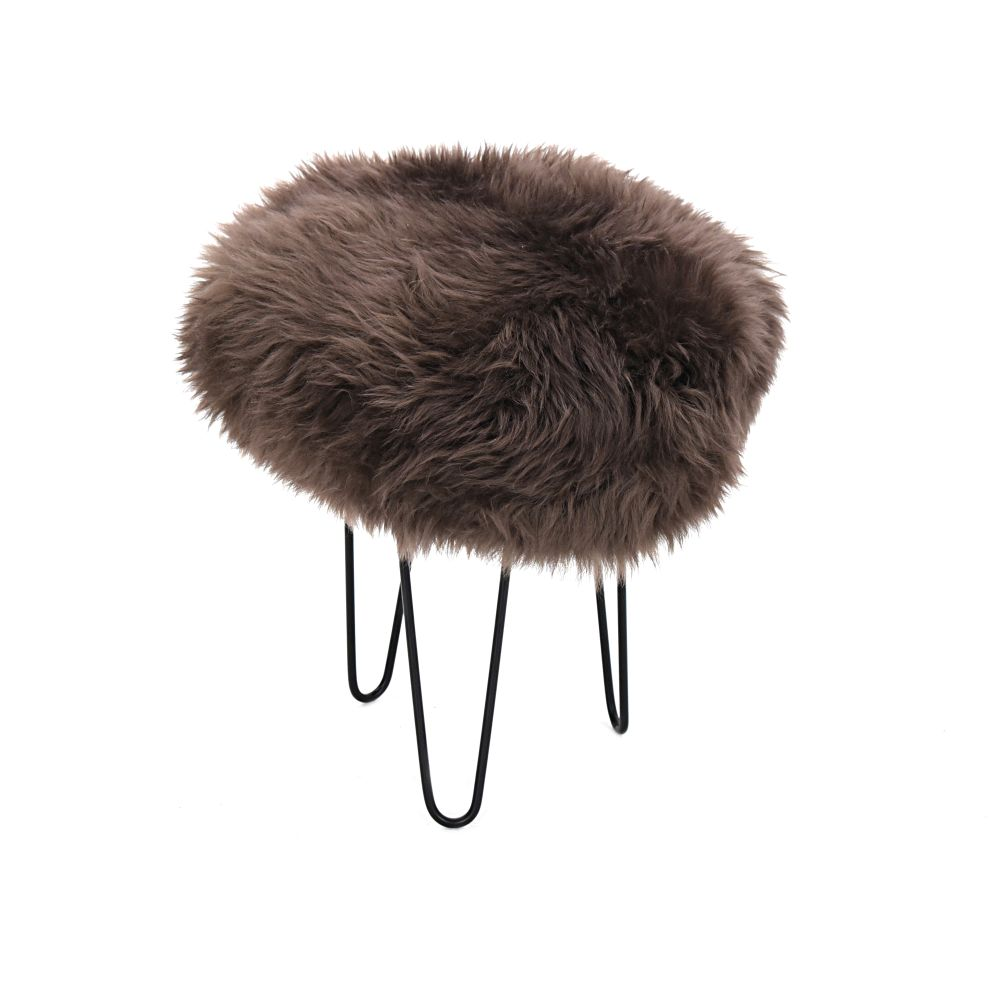 Gracie Baa Stool in Mink
