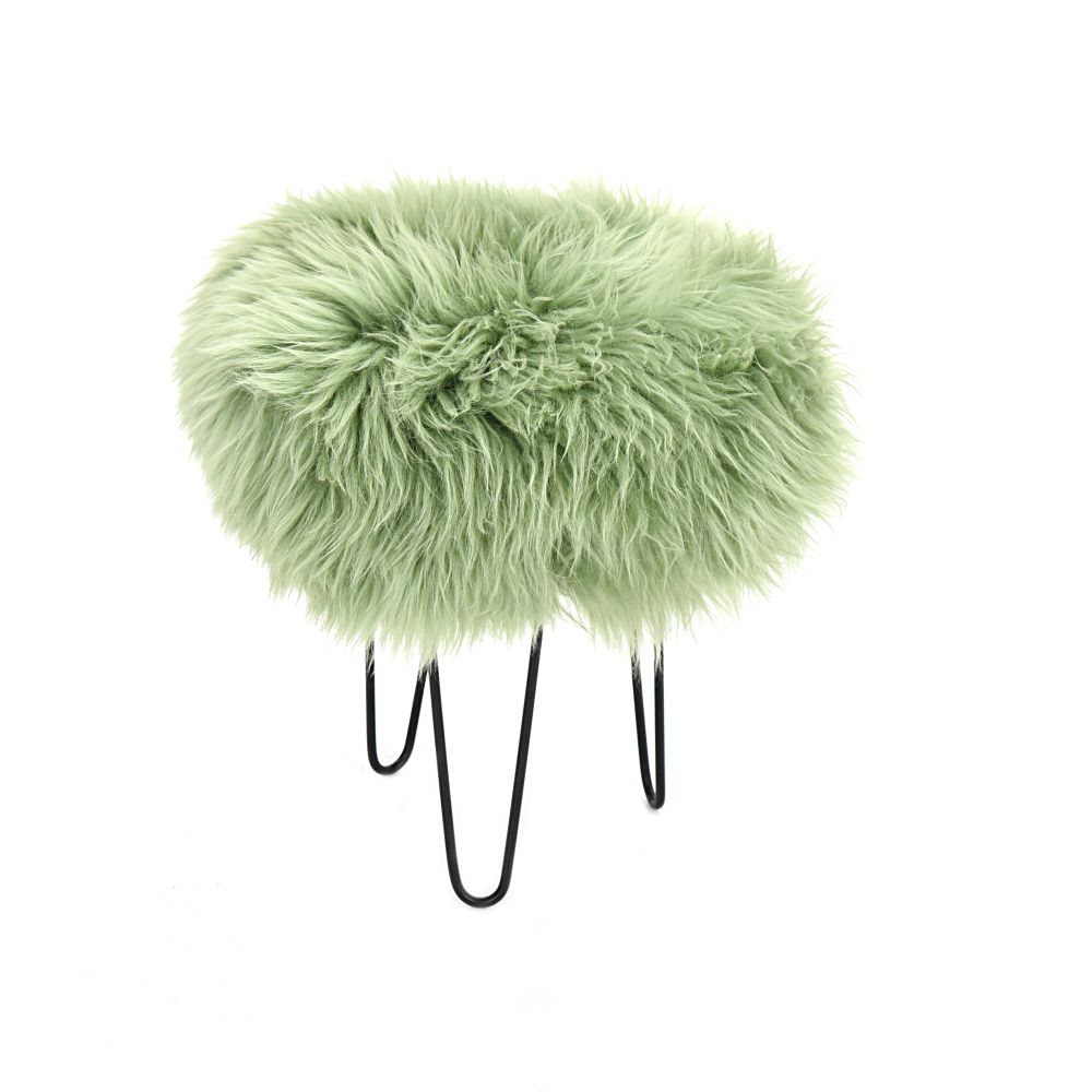 Gracie Baa Stool in Sage