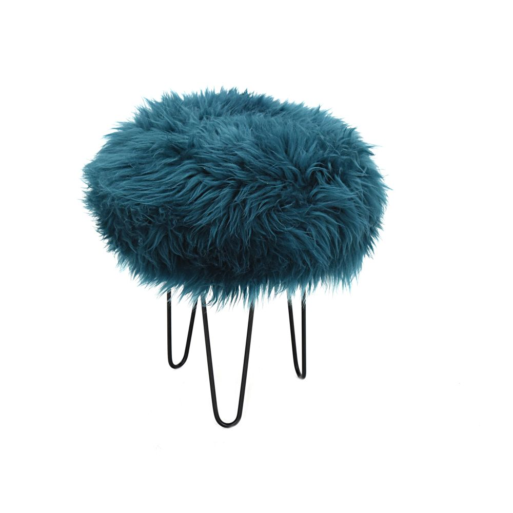 Gracie Baa Stool in Teal