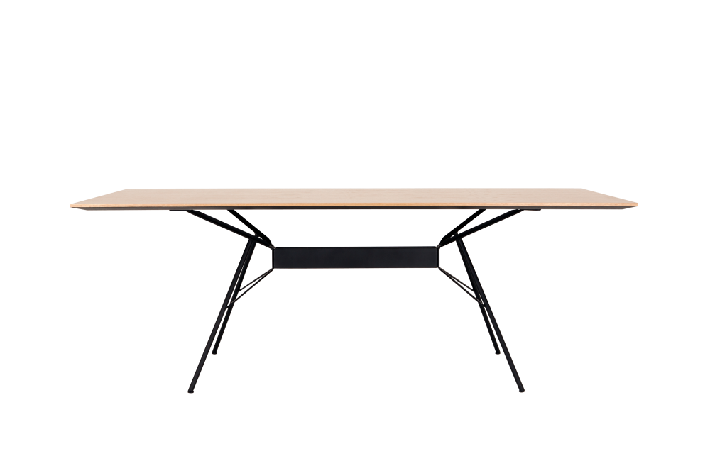 Bridge Dining Table - Rectangular by Novel Cabinet Makers