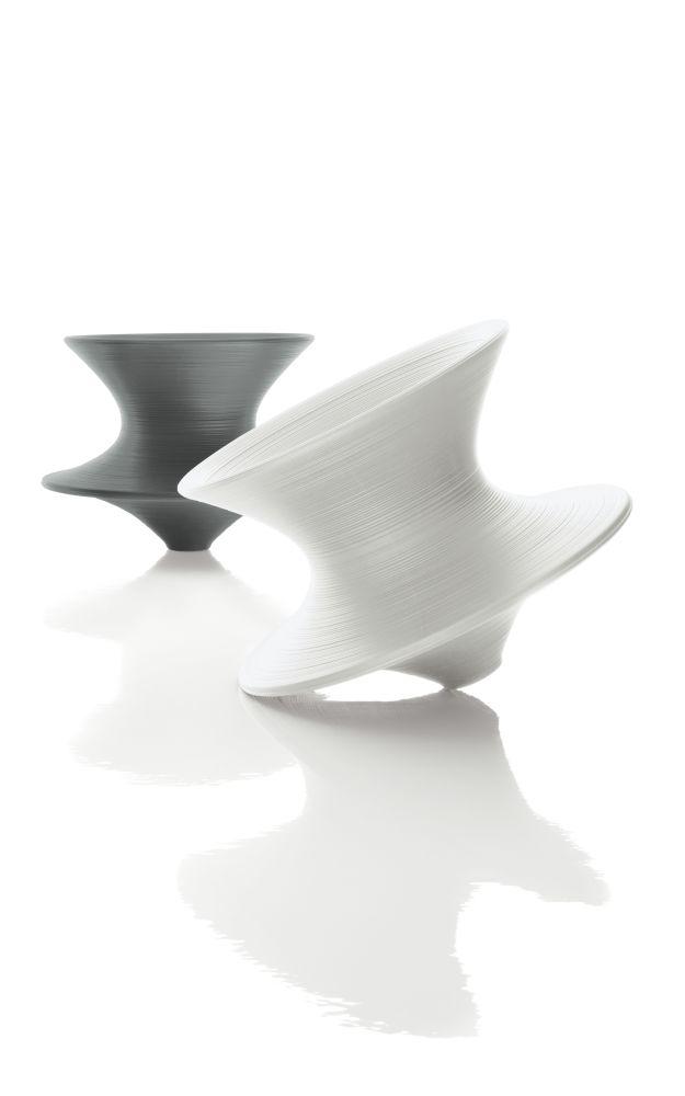 Spun Rotating Low Chair by Magis Design
