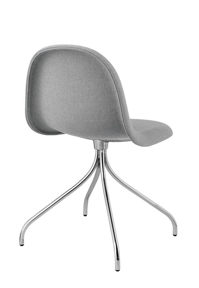 Gubi 3D Dining Chair Swivel Base - Fully Upholstered by Gubi