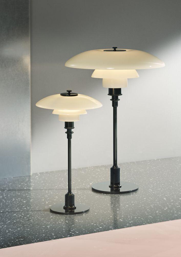 Ph 32 table lamp uk plug black metallised by louis poulsen ph 32 table lamp mozeypictures Choice Image