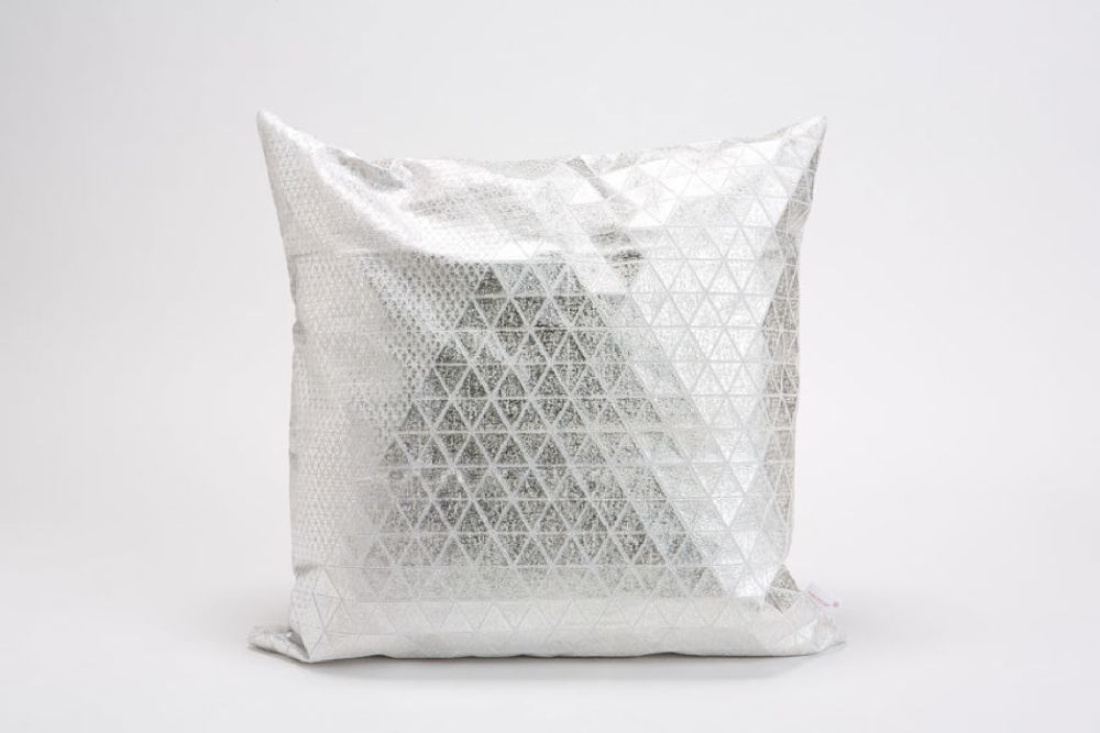 Bling Origami Square Cushion Cover by Mikabarr