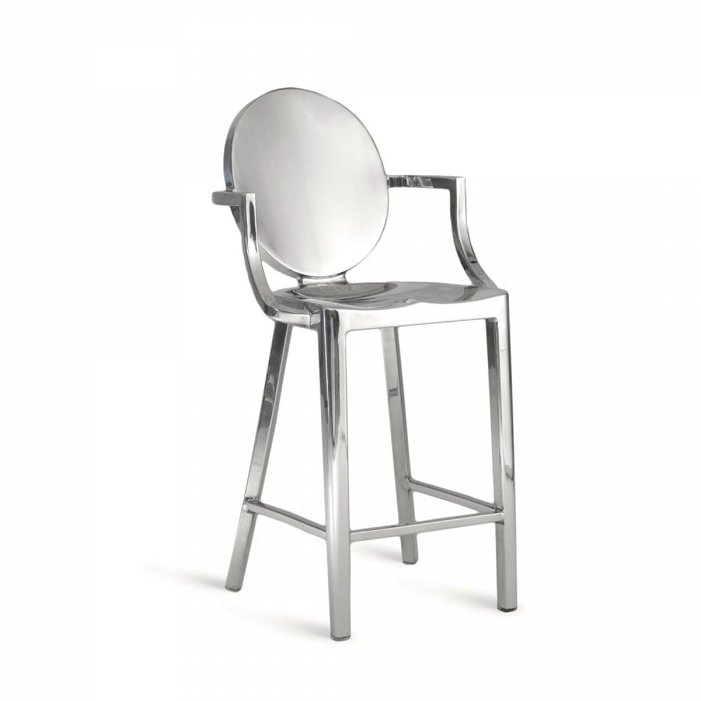 Kong Barstool with Arms by Emeco
