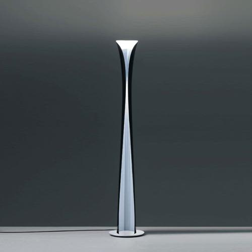 Cadmo floor lamp blackwhite by karim rashid for artemide aloadofball Image collections