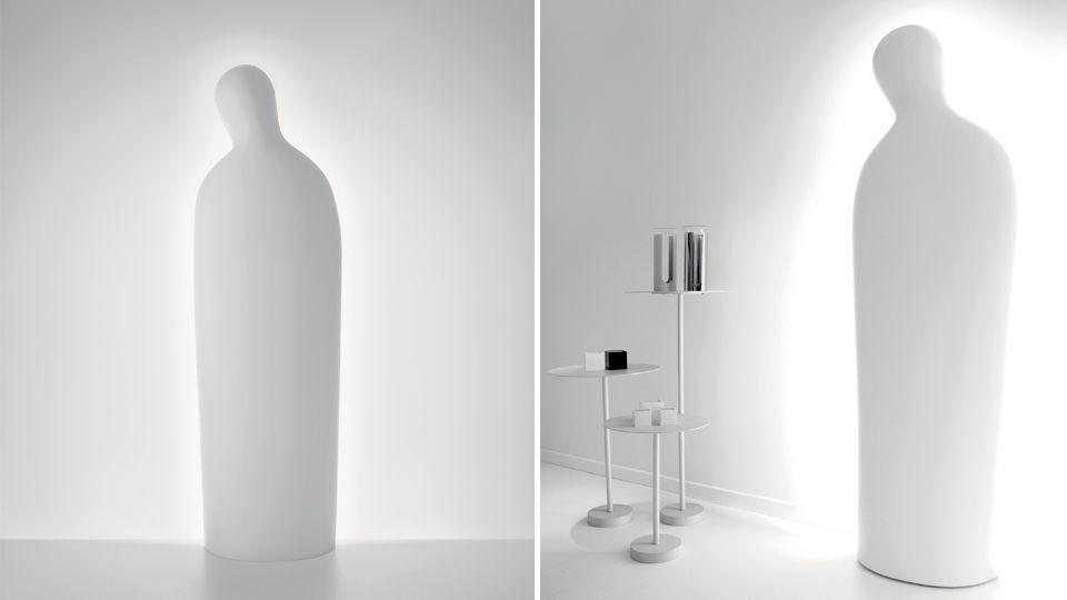 Dulcinea floor lamp white by karim rashid for artemide dulcinea floor lamp from artemide aloadofball Images