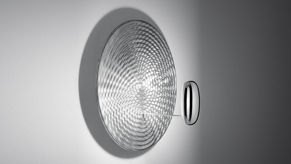 Droplet mini led wallceiling light 3000 by artemide aloadofball Choice Image
