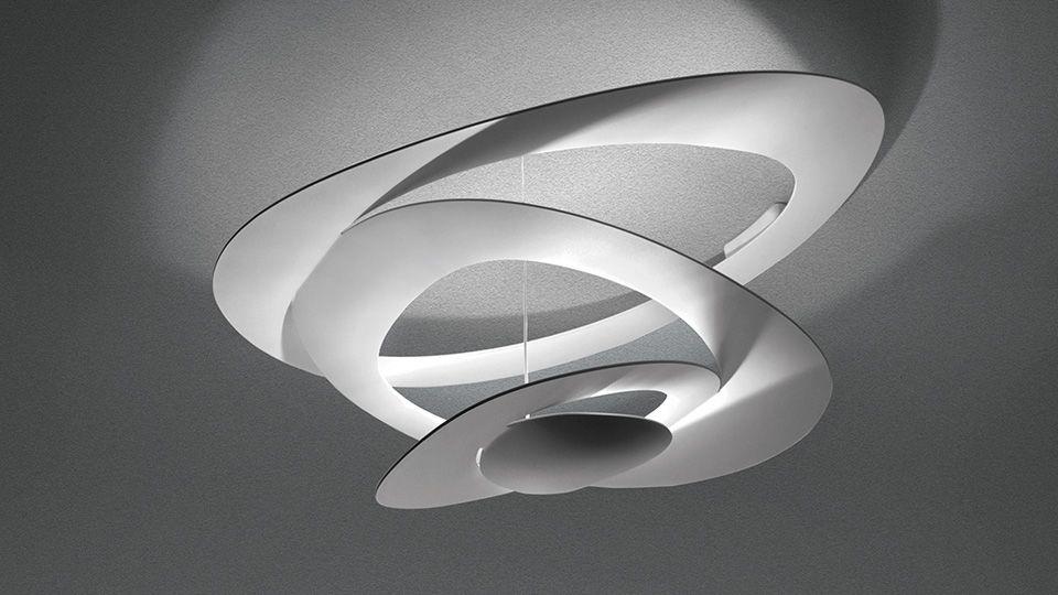 Pirce mini led ceiling light white 3000k by artemide aloadofball Image collections