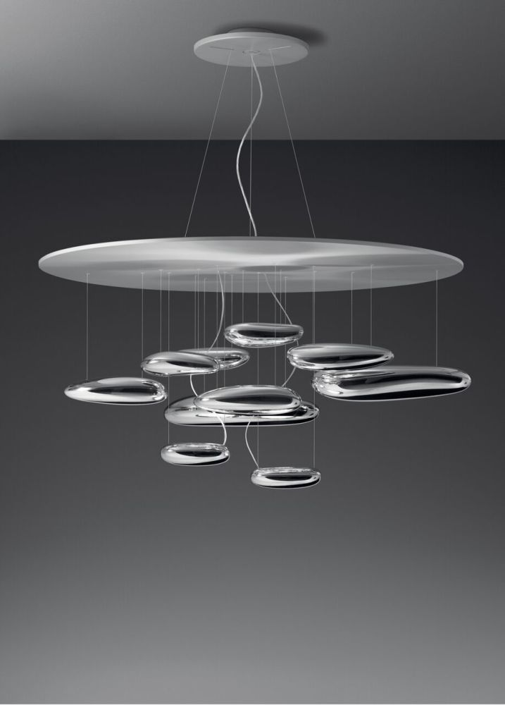 Mercury led pendant light 3000 by ross lovegrove for artemide mozeypictures Image collections