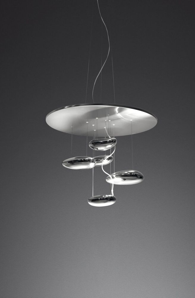 Mercury mini pendant light polished chrome by artemide aloadofball Image collections