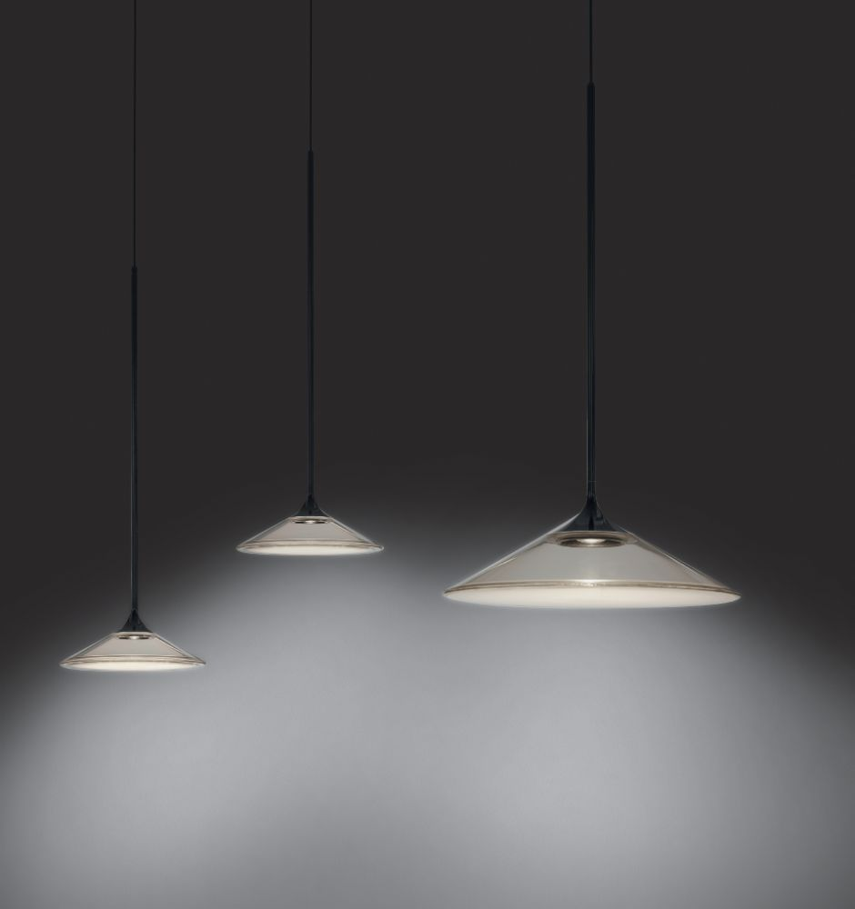 orsa pendant light 21 by norman foster for artemide