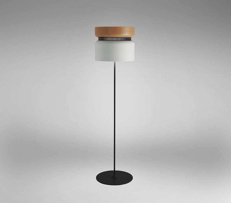 Aspen Wide Floor Lamp by B.LUX