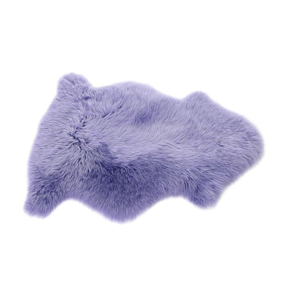 Sheepskin Rug in Lilac