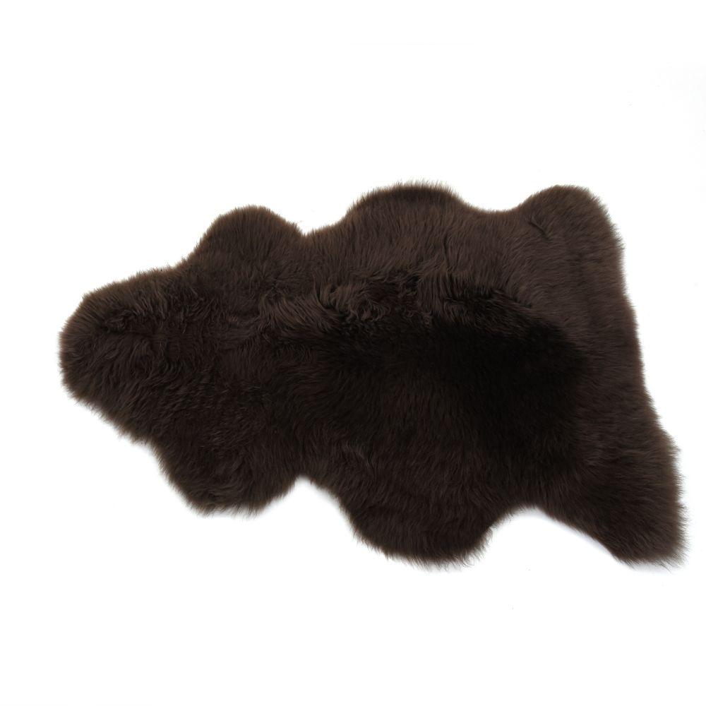 Sheepskin Rug in Mink
