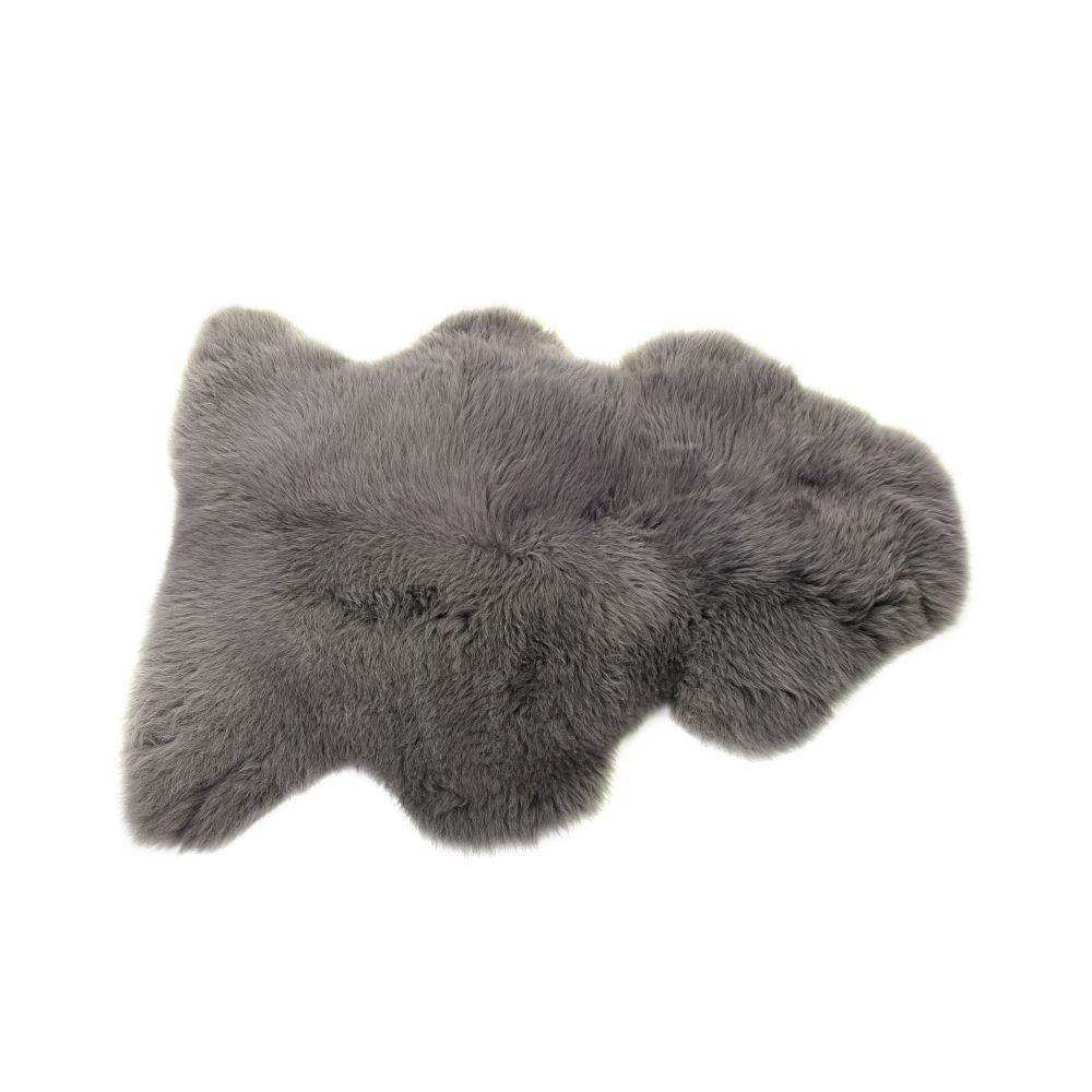 Sheepskin Rug in Slate Grey