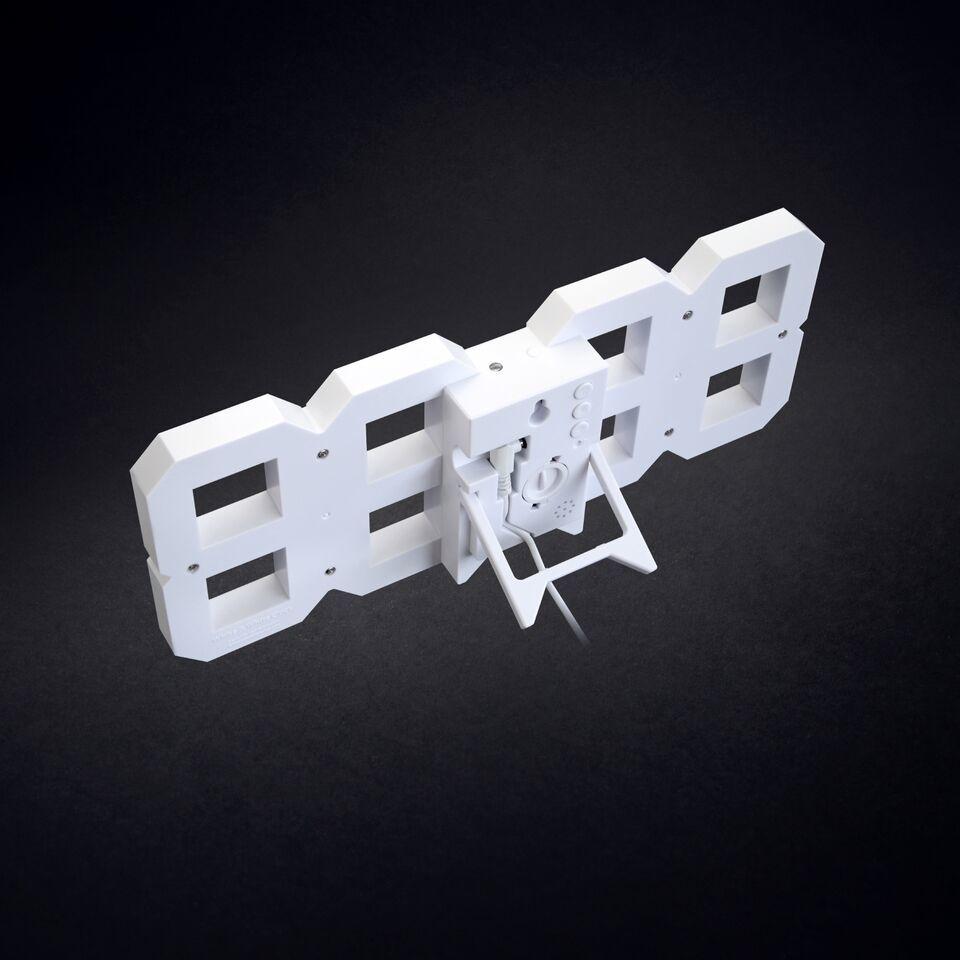 White & White Clock, 10m cord