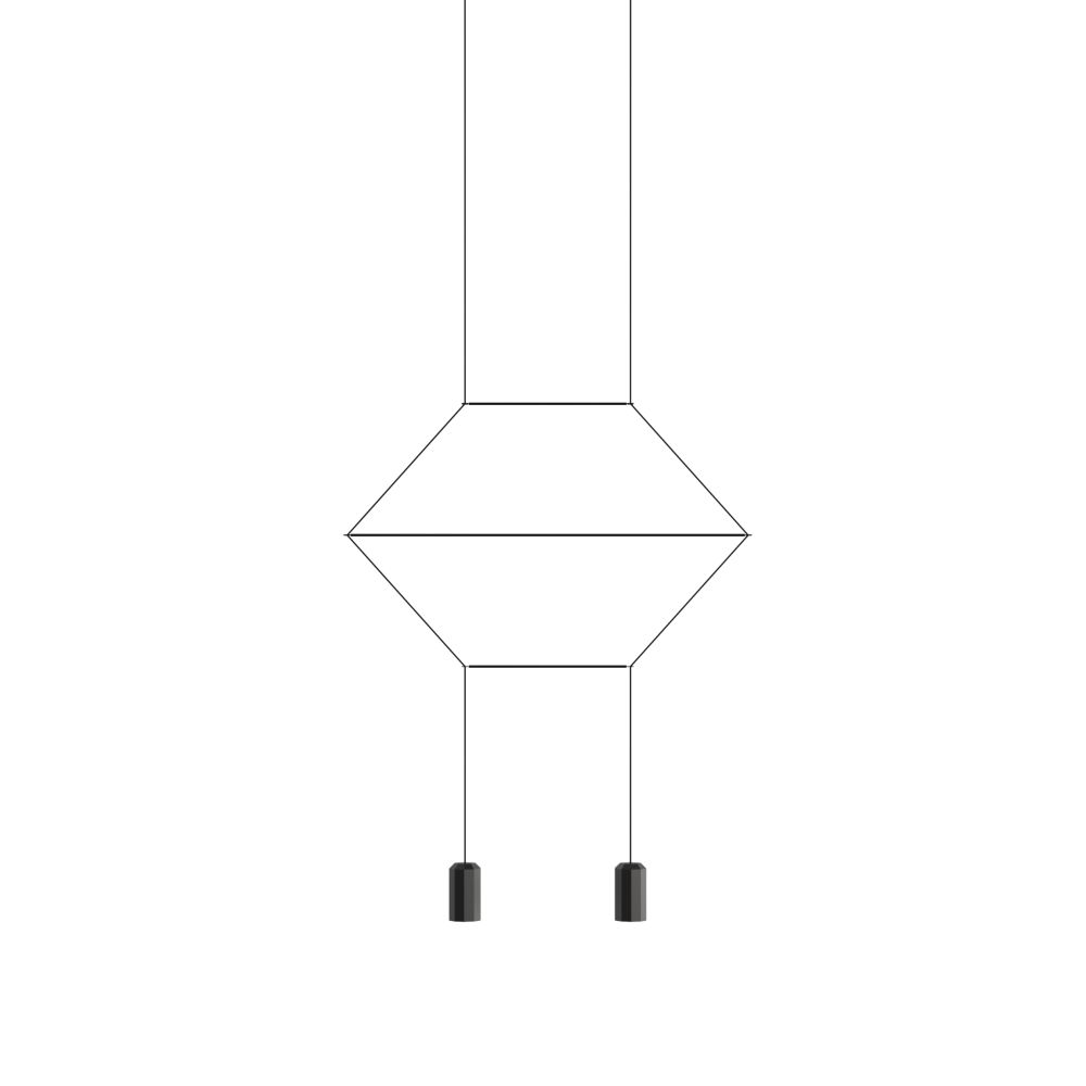Wireflow Lineal 0320 Pendant Light by Vibia