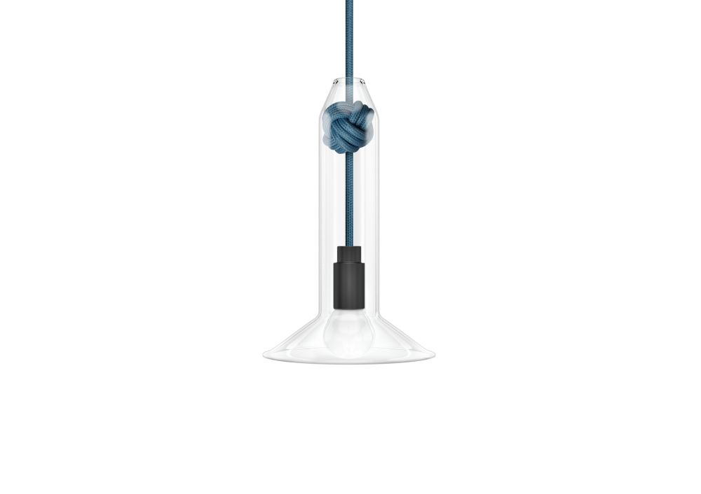 Knot Narrow Pendant Light by Vitamin