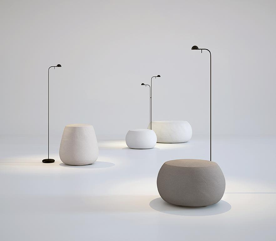 The Pin Floor Lamp Collection Is A Daring Lighting Proposal From Anese Designer Ichiro Iwasaki For Vibia