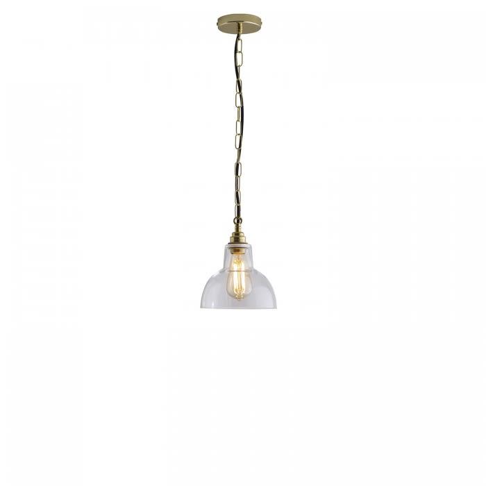 Glass York Pendant Light by Davey Lighting