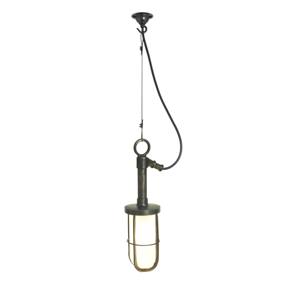 Ship's Well Glass Pendant Light 7524 by Davey Lighting