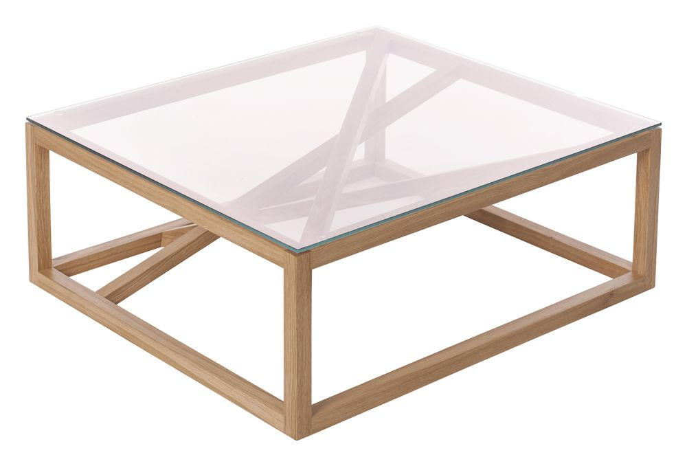 1x1 trestle coffee table by Another Brand
