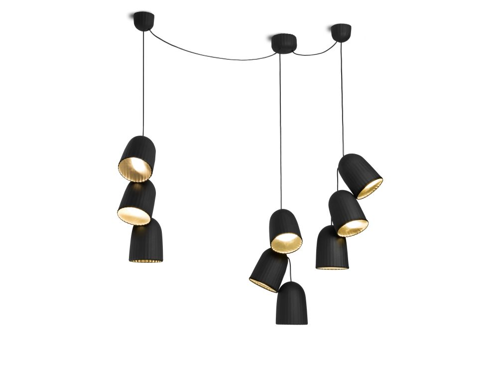 Chains Triple 3 Units Pendant Light by Petite Friture