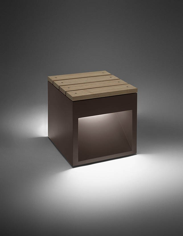 Lap Bench Outdoor Light by B.LUX