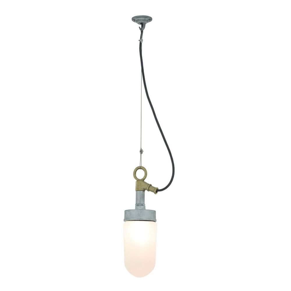 Well glass pendant light 7679 clear glass ip20 by davey lighting frosted glass aloadofball Choice Image
