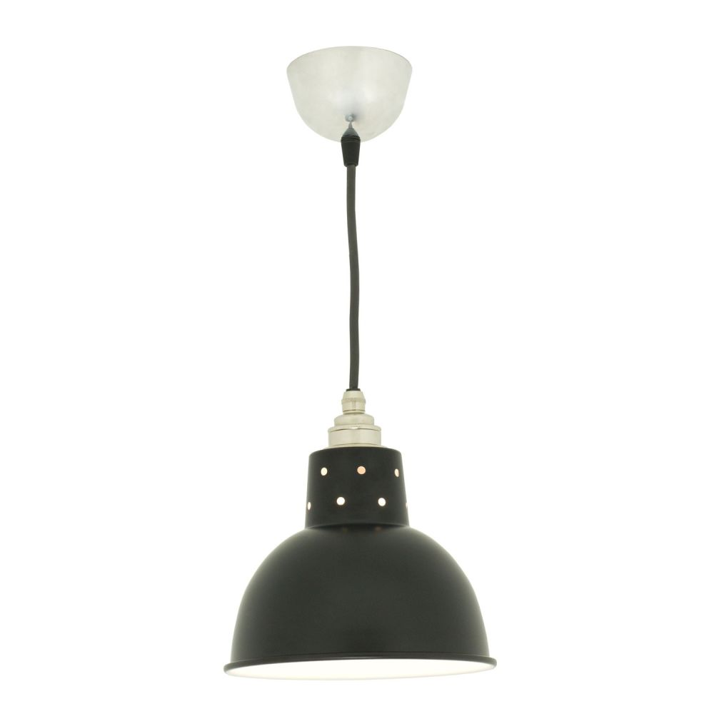 Spun Reflector with Cord Grip Lampholder 7165 by Davey Lighting