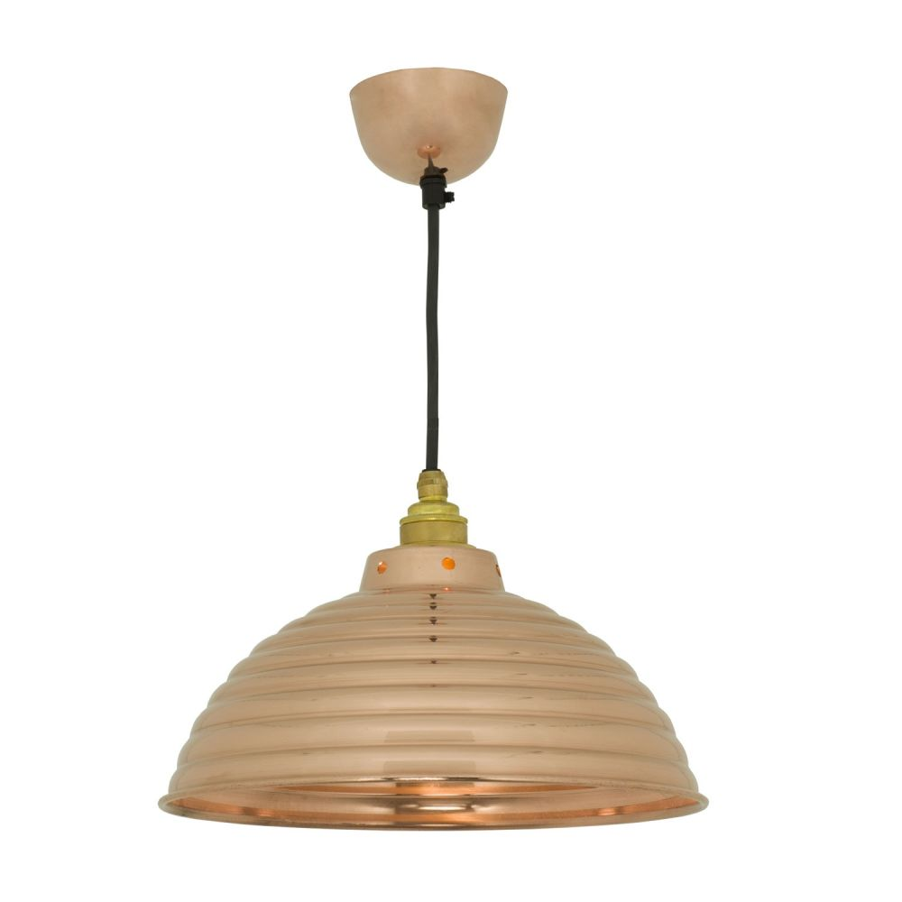 Spun Ripple with Cord Grip Lampholder 7170 by Davey Lighting
