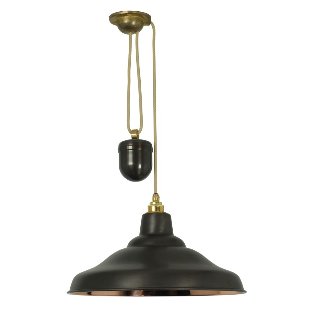 Rise and fall school pendant light 7200 by davey lighting clippings
