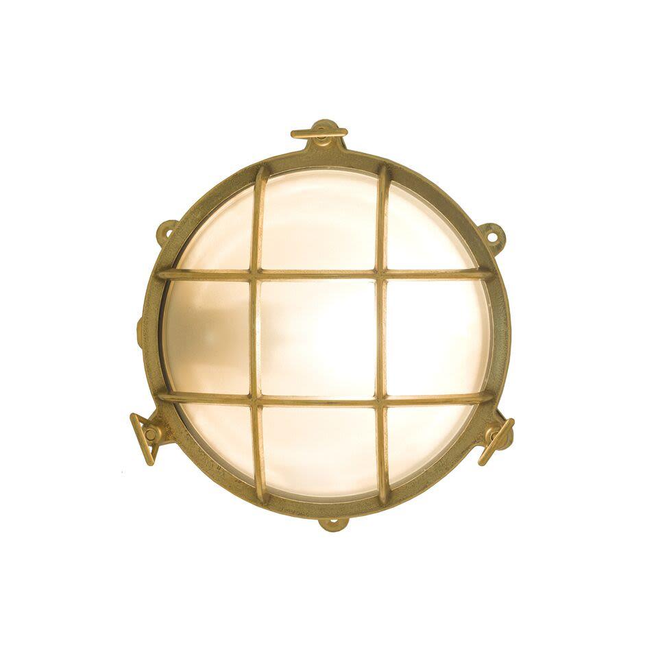 Brass Bulkhead by Davey Lighting