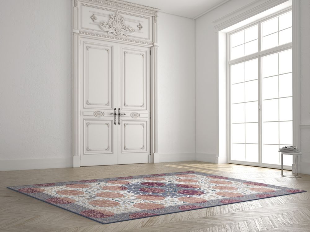 Princely Purple Rug by Mineheart