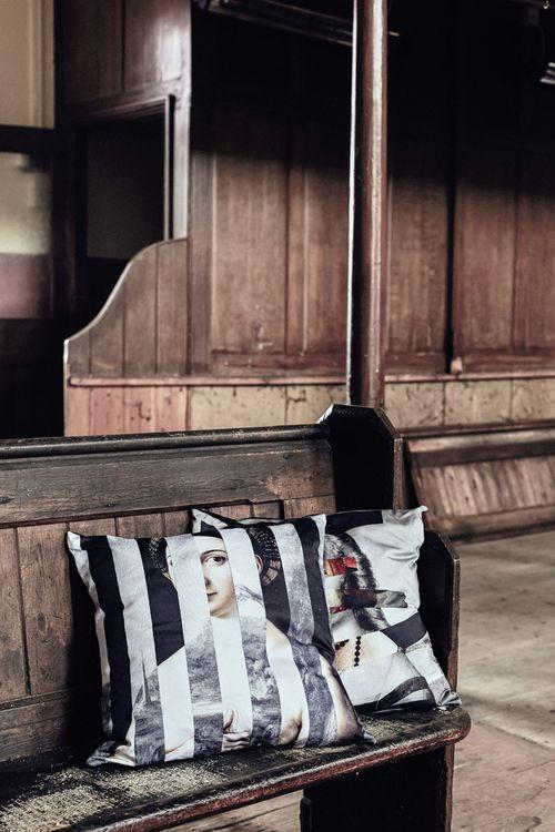 Geo Raphaelite Cushion  by Mineheart